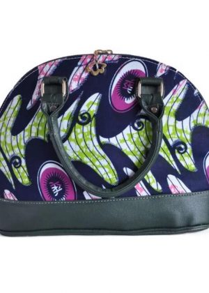 African Print Vocal Bag Multi-Coloured