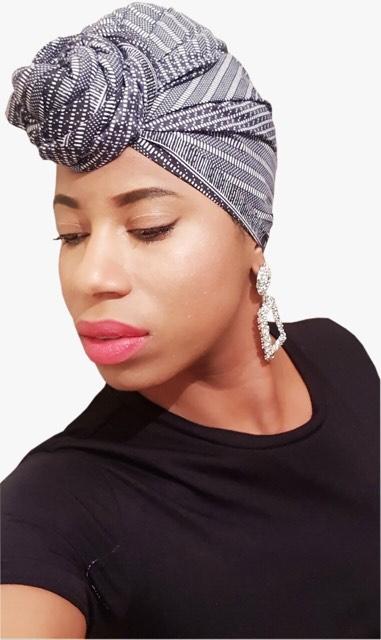 African Print Ankara headscarf