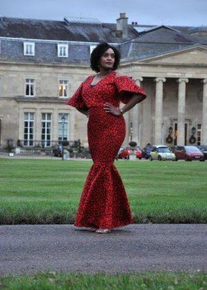 Zara Africa Bodycon Flare Dress