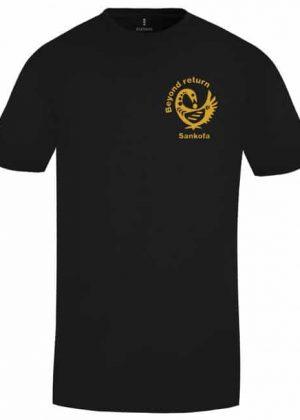 """Beyond Return"" Sankofa T-Shirt - Small Logo"