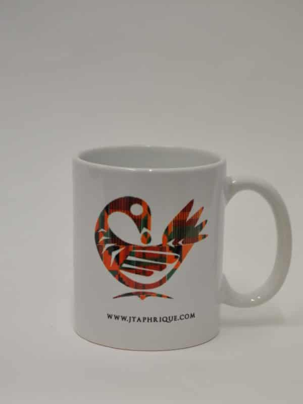 Sankofa Design Print On A Mug