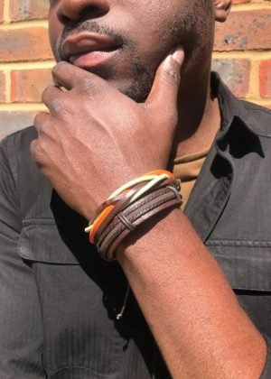 African Style Leather Rope Bracelet