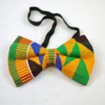 Authentic Handwoven Multicoloured Kente Bow Tie