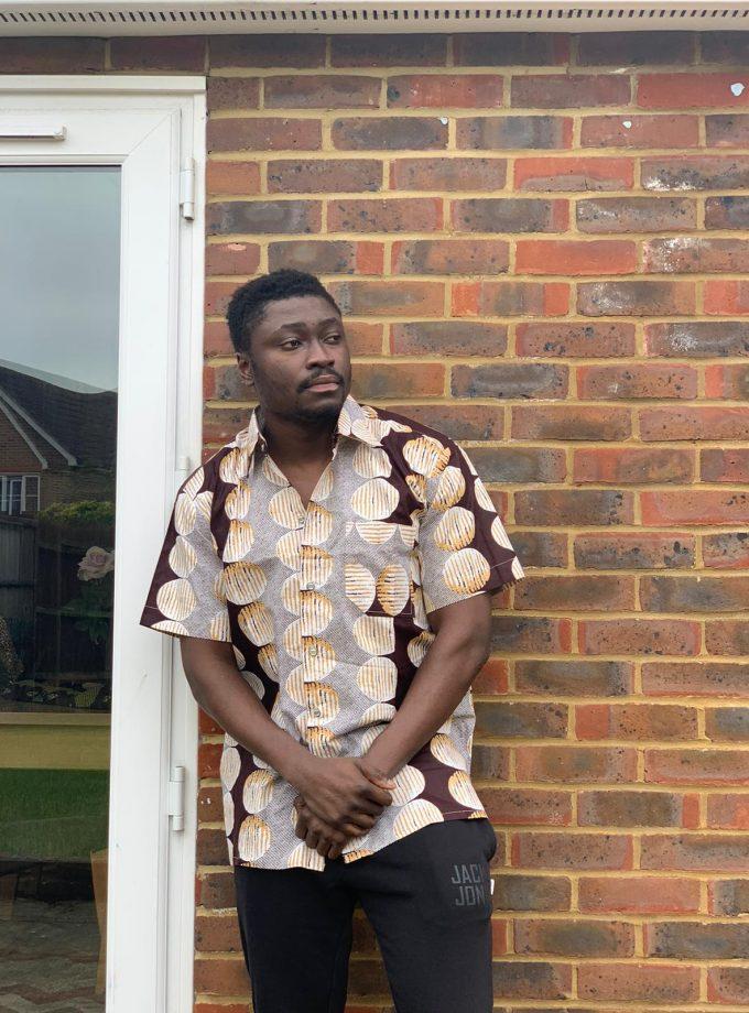 Ethnic African Print Shirt