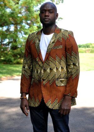 African Print Men Ankara Blazer/jacket