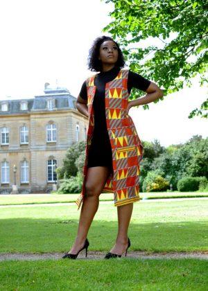 Ruby African Print Ankara Kimono