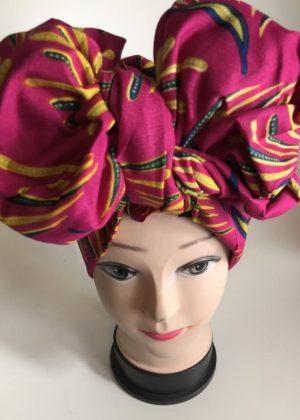 African Print Head Wrap /Ankara Scarf/ Hair Tie, Turban