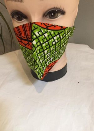 Unisex African Print Washable,Safe And Reusable Face Mask