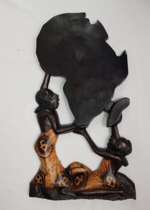 Africa Shaped Wall Art / Decor