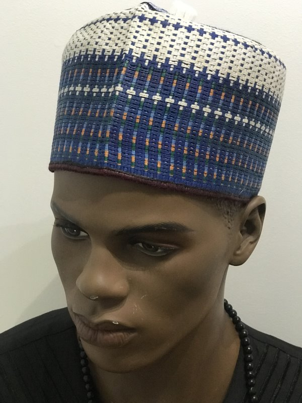 West African Men Hausa/kufi Traditional Native Cap