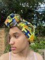 Narki African Print Head Wrap Side Image