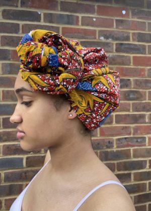 Suna African Print Head Wrap