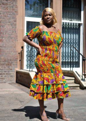 Felica Bodycon Dress chilli