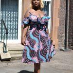 Amina Wrap Midi Dress