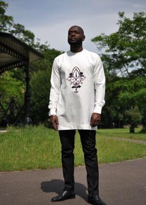 Chibuike Mens Embroidery Shirt far