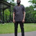 Ayo Black African Men's Shirt
