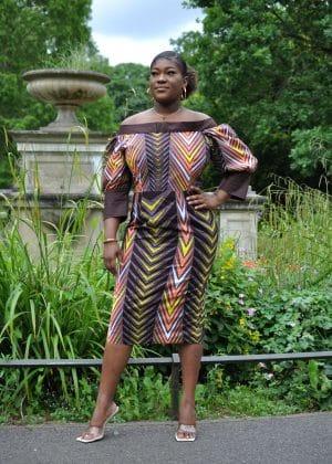 Hadiza African Women's Dress